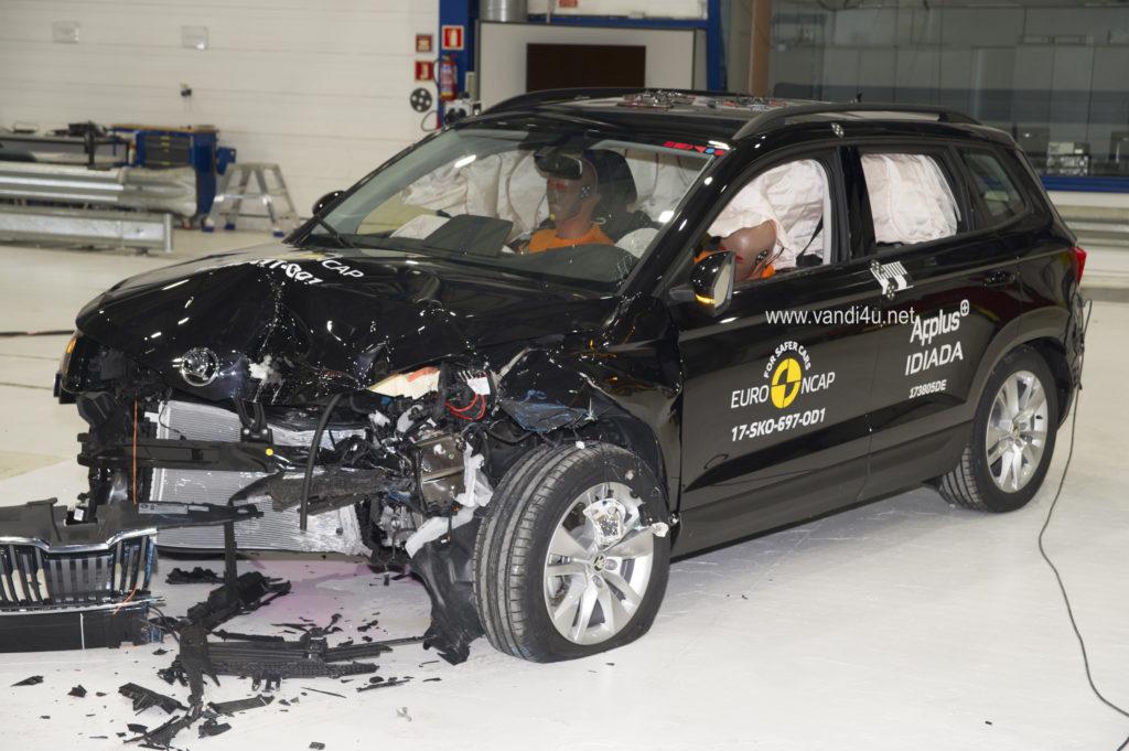 Skoda Karoq crashtest