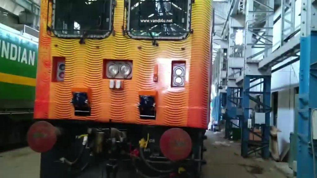 Tejas Express will soon get new aerodynamic WAP5 Locomotive