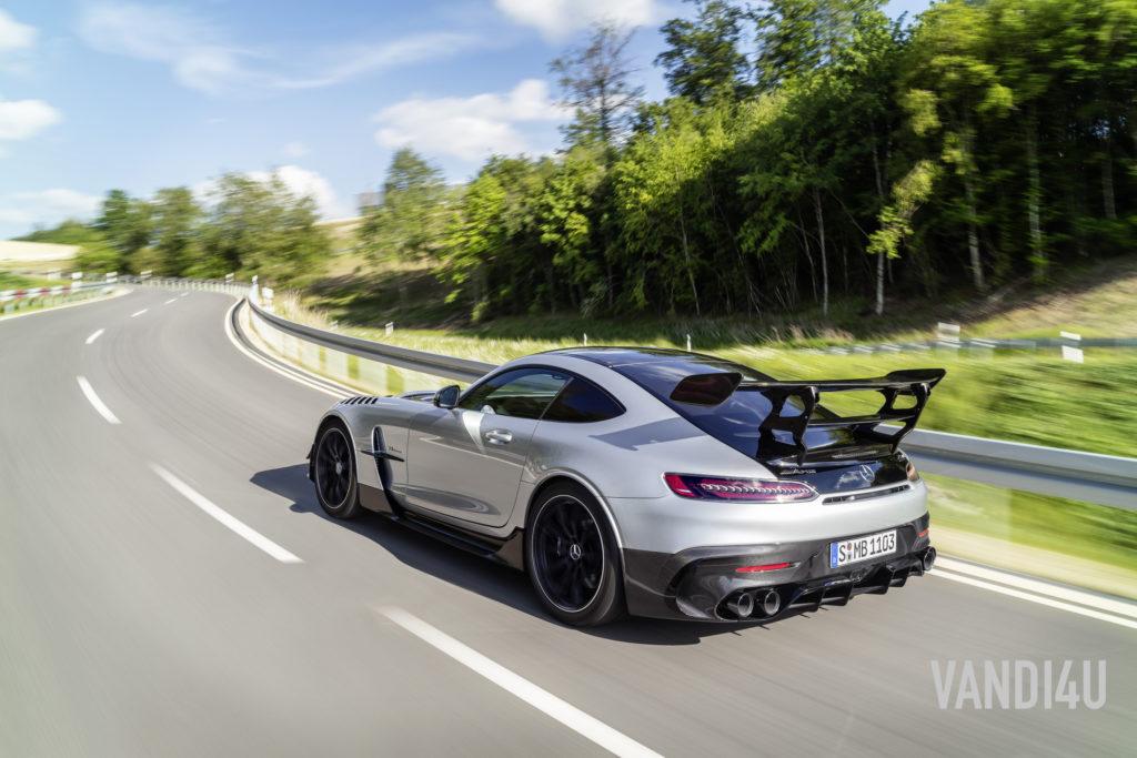 2021 Mercedes Benz AMG GTR Black Edition image gallery