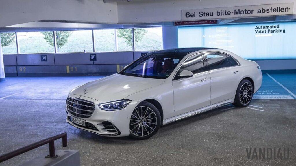 2021 Mercedes Benz S Class Features World's First Automated Valet Parking System | Vandi4u.net