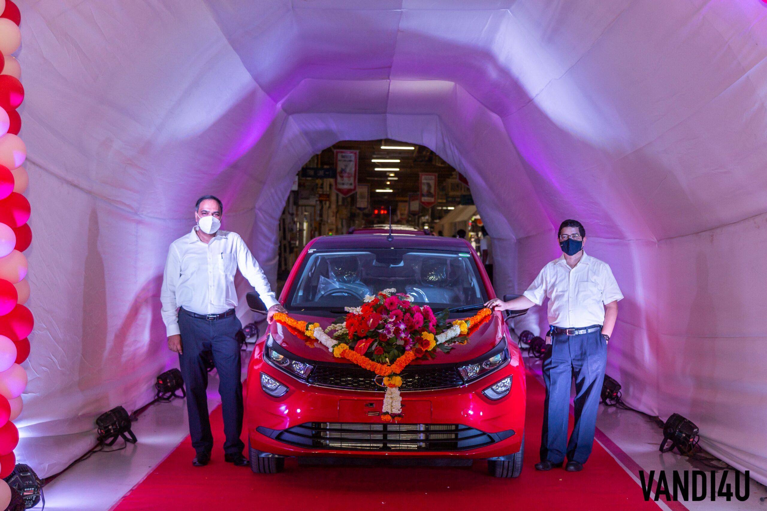 Tata Motors Passenger Vehicles clocks 4 Million production milestone in India   Vandi4u