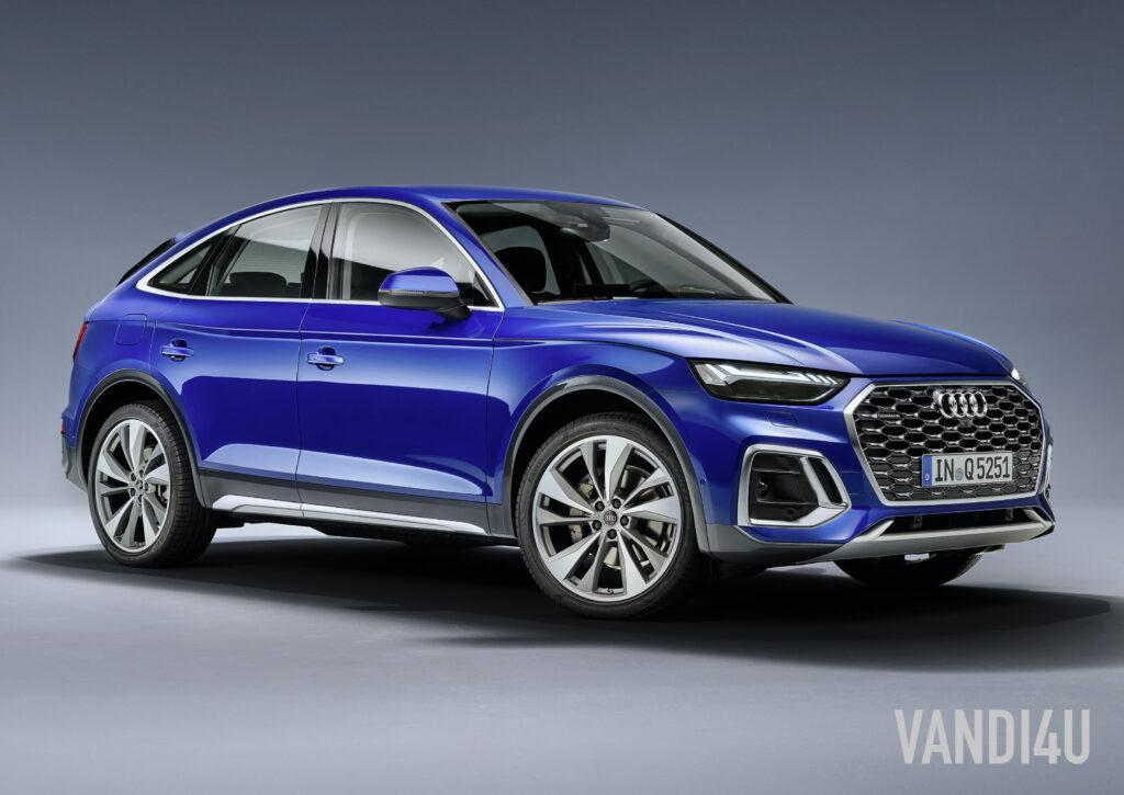 2021 Audi Q5 Sportback revealed -  the tech loaded dynamic CUV   Vandi4u