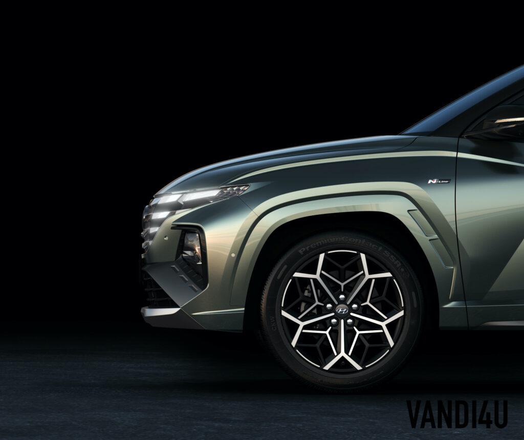 2022 Hyundai Tucson N Line teased ahead of launch | Vandi4u