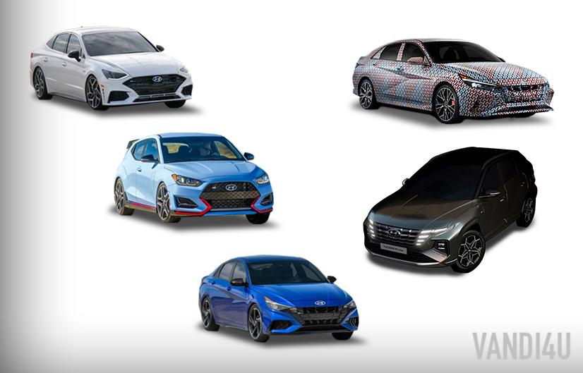 Hyundai plans to launch 7 new N and N-Line models in US by 2022 | Vandi4u