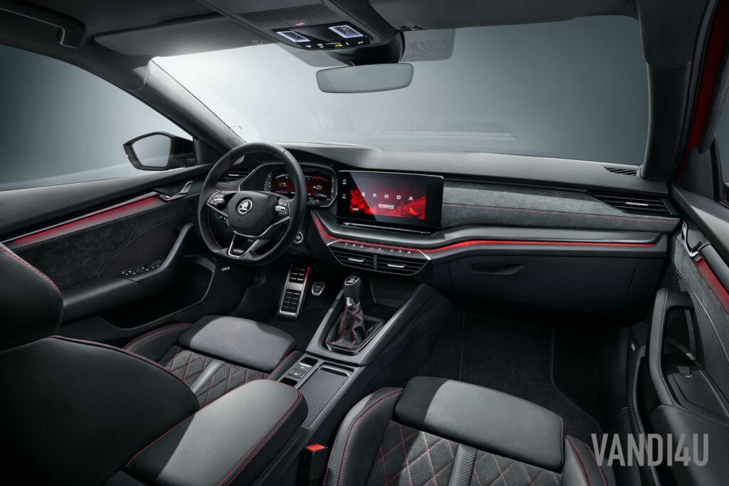 2021 Skoda Octavia RS is Sportier, Lighter And More Powerful   Vandi4u