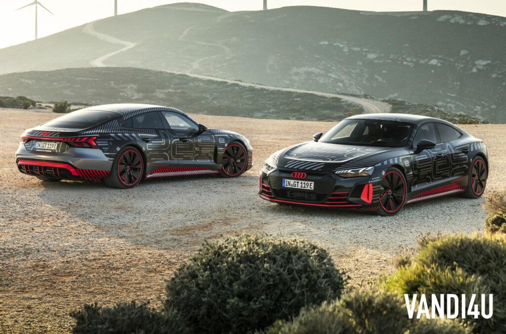 Audi e-tron GT enters series production in Germany | Vandi4u