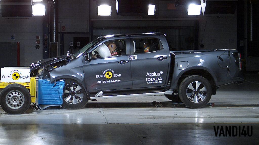 Isuzu D-Max pick-up attains 5-stars in Euro NCAP crash test   Vandi4u