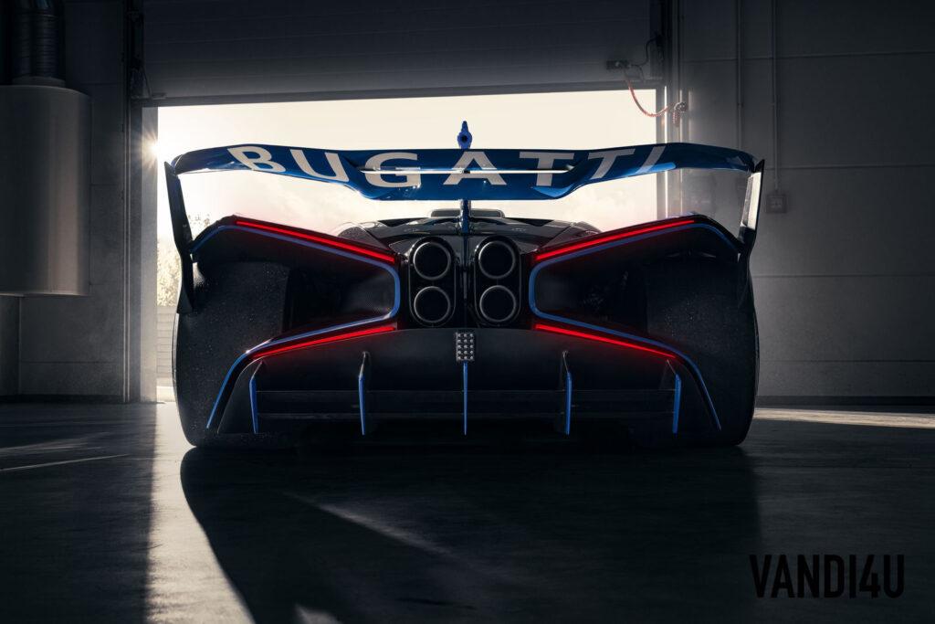 The 1890-HP Bugatti Bolide is a real track-focused hypercar | Vandi4u