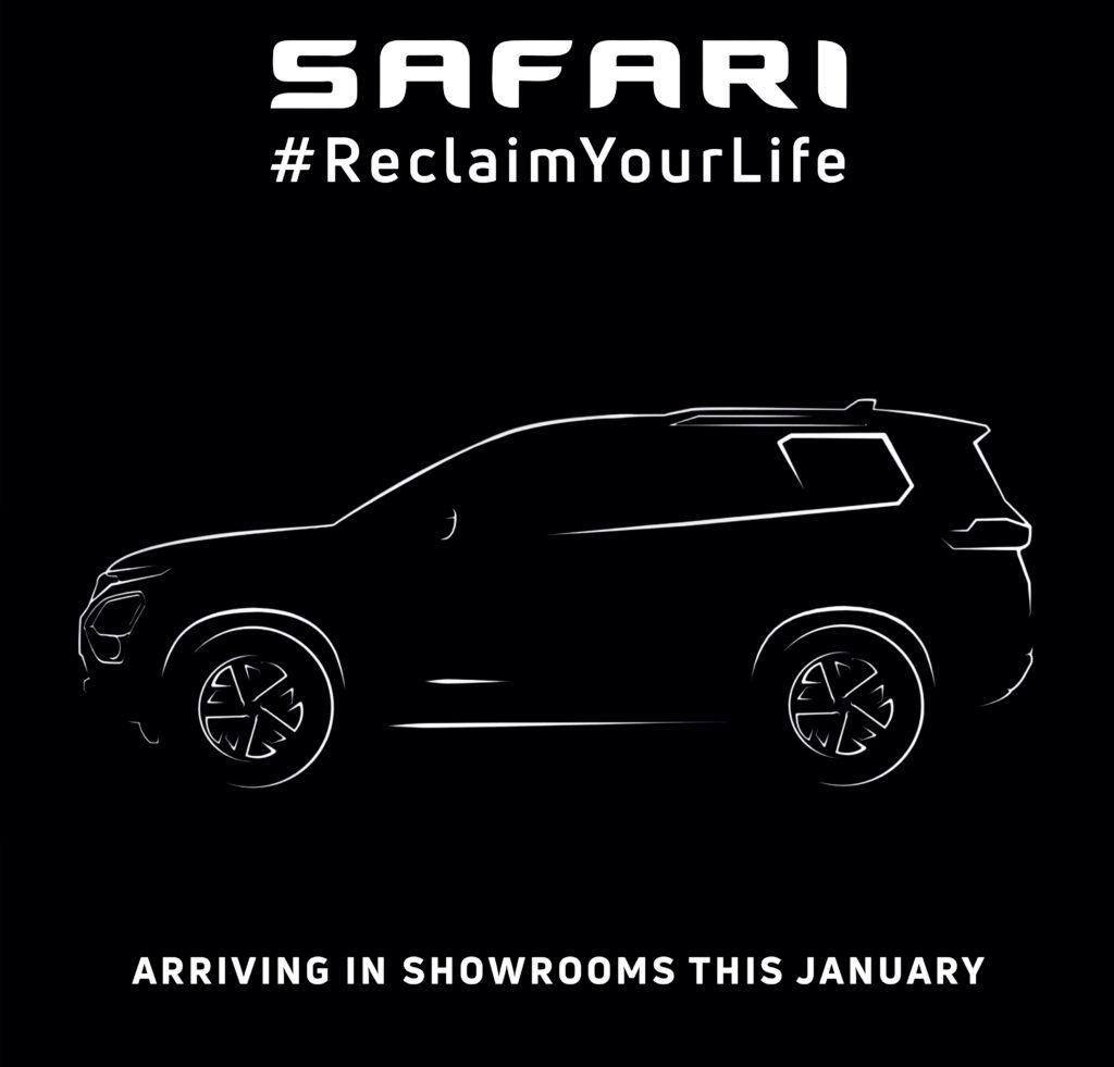 Tata's forthcoming flagship SUV will be known as Tata Safari  | Vandi4u