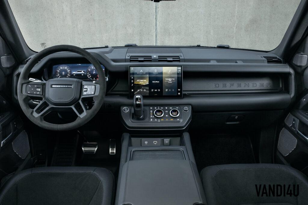 2022 Land Rover Defender V8 has a characteristic exhaust note | Vandi4u