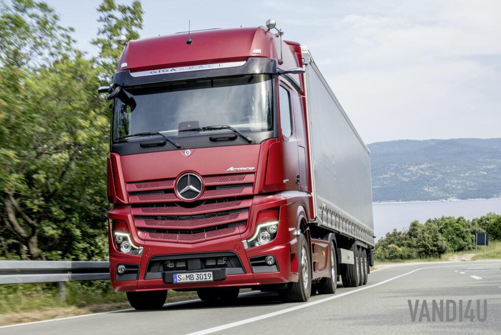 New Mercedes-Benz Actros: Top 5 things to know | Vandi4u