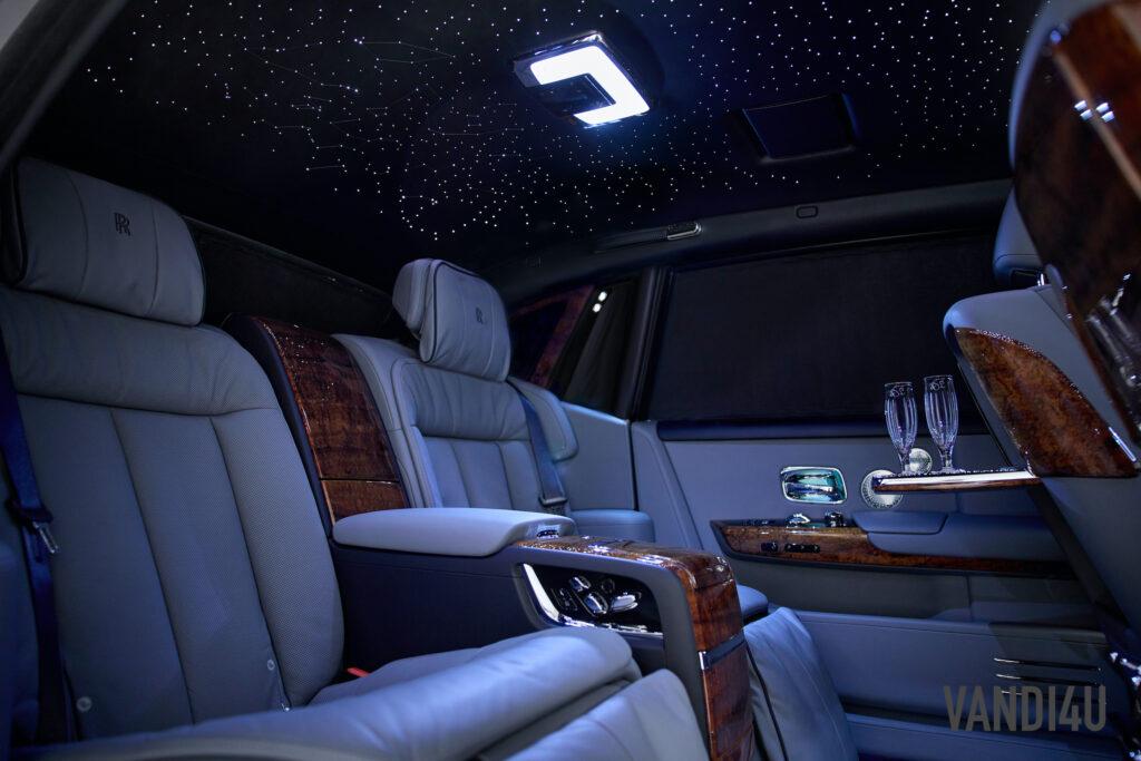Rolls Royce unveils the first ever Bespoke Koa Wood Phantom | Vandi4u