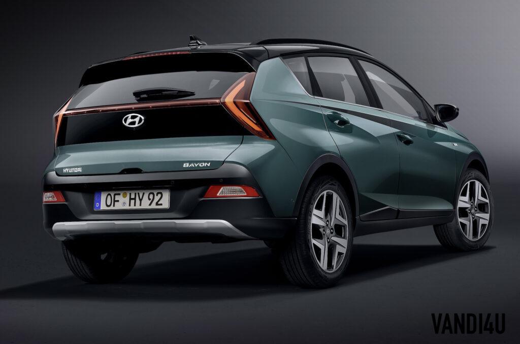 Hyundai unveils all-new Bayon: The i20 based compact SUV | Vandi4u