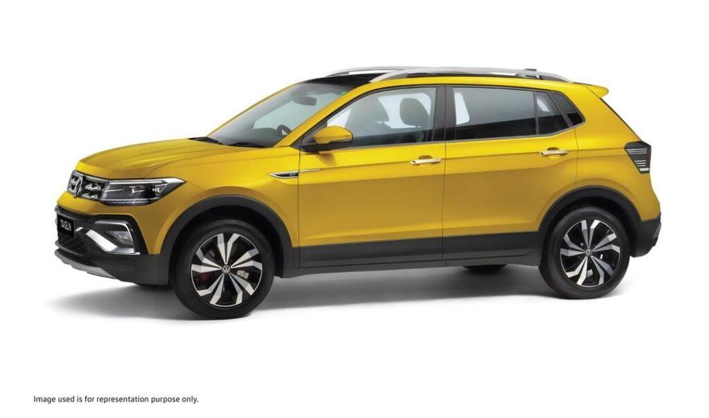 Volkswagen Taigun side