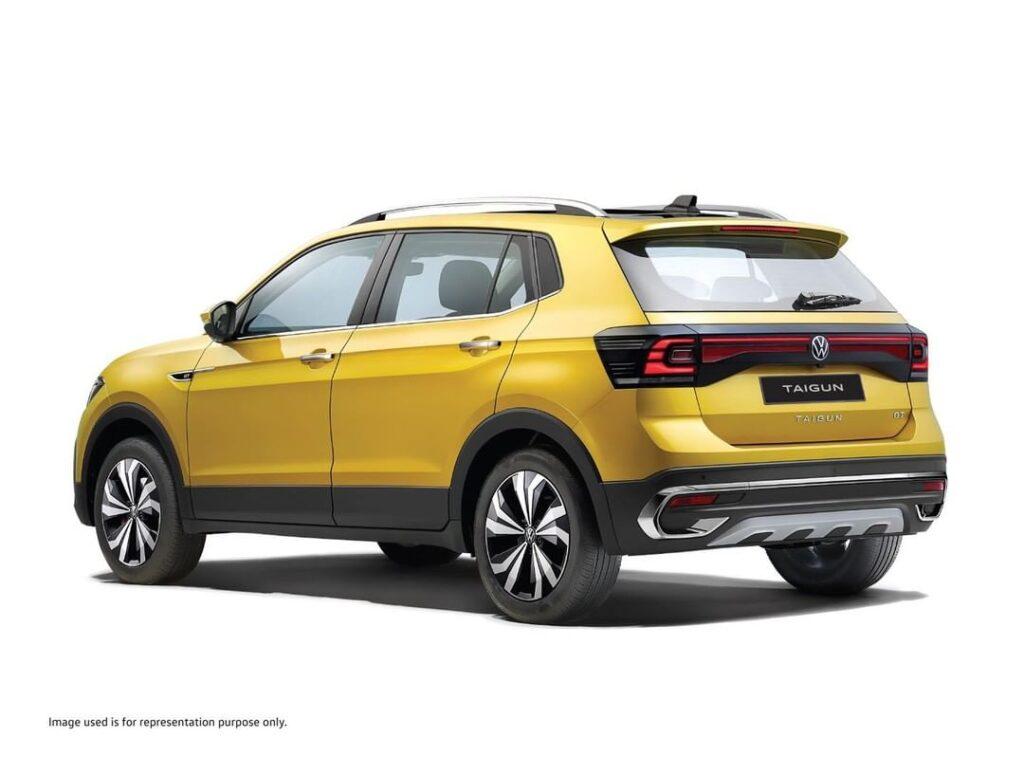 VW Taigun rear