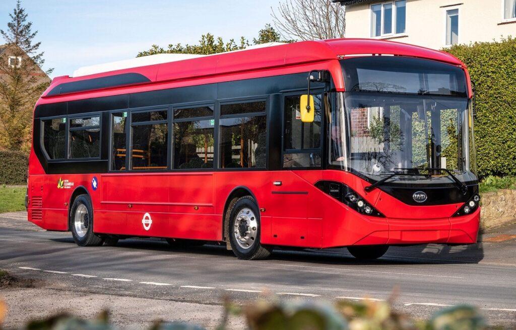 BYD ADL partnership receives UK's largest ever electric bus order from NFI | Vandi4u