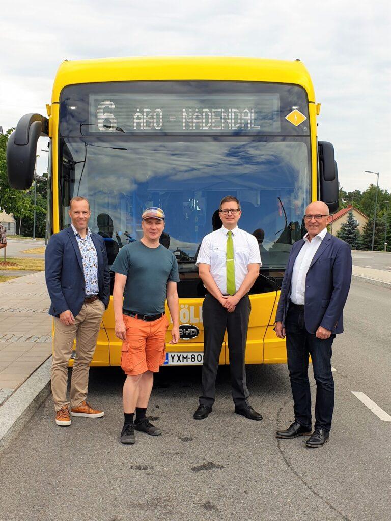 Finland's first BYD eBuses starts service in Turku | Vandi4u