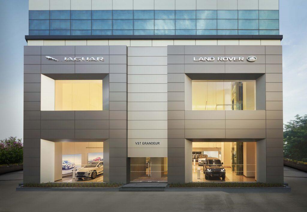 Jaguar Land Rover showroom in Chennai