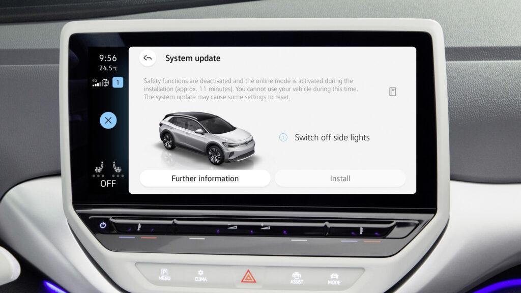 Volkswagen ID. models Over-the-Air Update