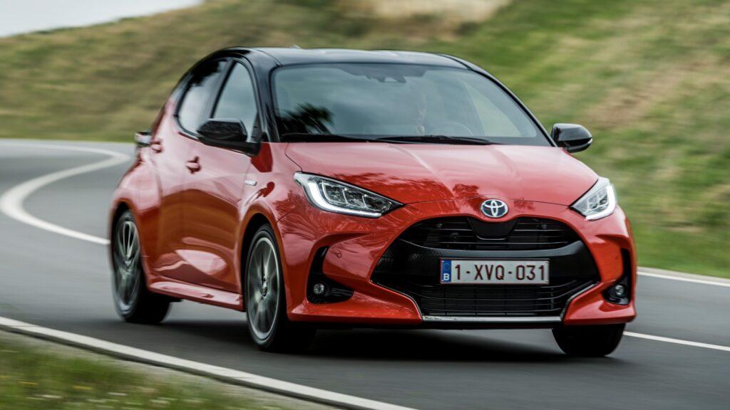 New Toyota Yaris hatchback